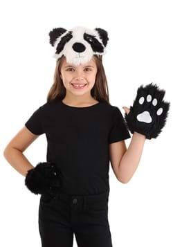 Panda Plush Headband & Paws Kit