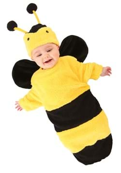 Infant Plush Bumble Bee Costume