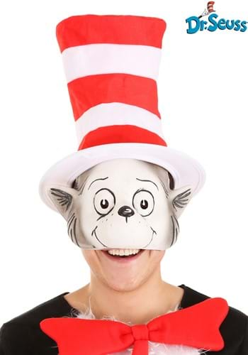 The Cat in the Hat Latex Mask & Hat Kit