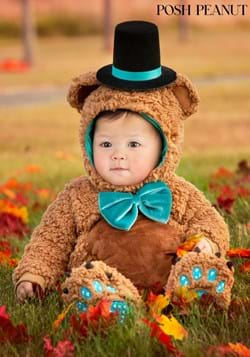 Posh Peanut Infant Archie Bear Costume updated