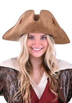Suede Women's Pirate Hat