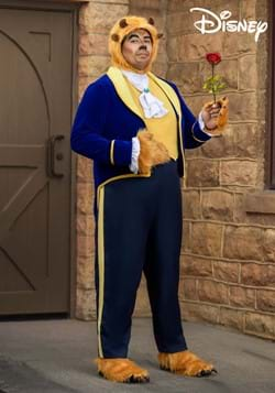 Beauty and the Beast Plus Size Beast Costume for Men-2