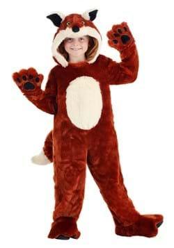 Kid's Plush Fox Costume