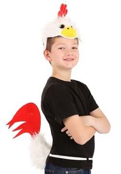 Chicken Plush Headband & Tail Kit