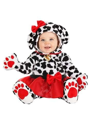 Infant Plush Dalmatian Tutu Costume