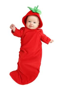 Infant Red Chili Pepper Costume