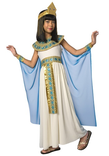 Kids Cleopatra Costume By: LF Products Pte. Ltd. for the 2015 Costume season.