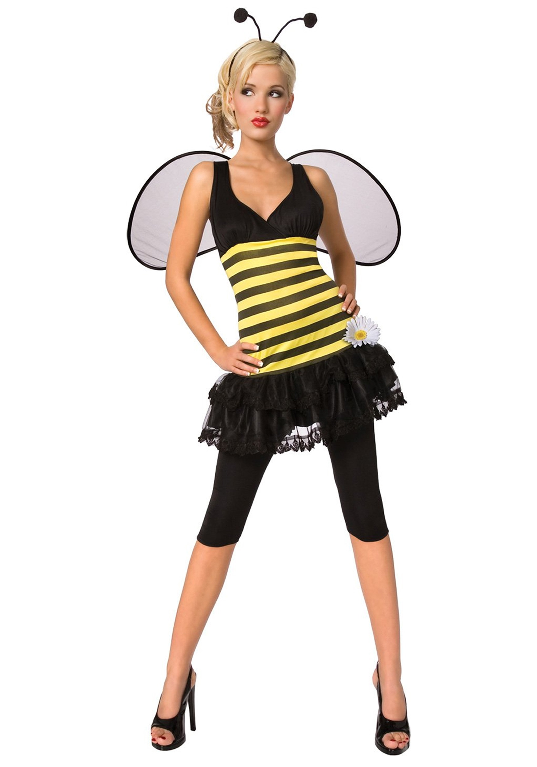 sc 1 st  Halloween Costumes & Adult Honey Bee Costume