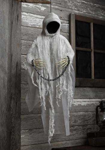 3ft Hanging Faceless Ghost Prop