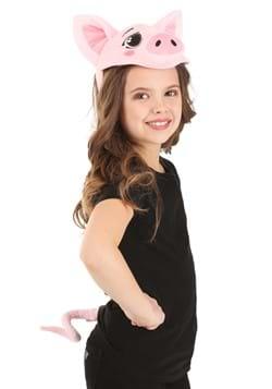 Pig Plush Headband Tail Kit