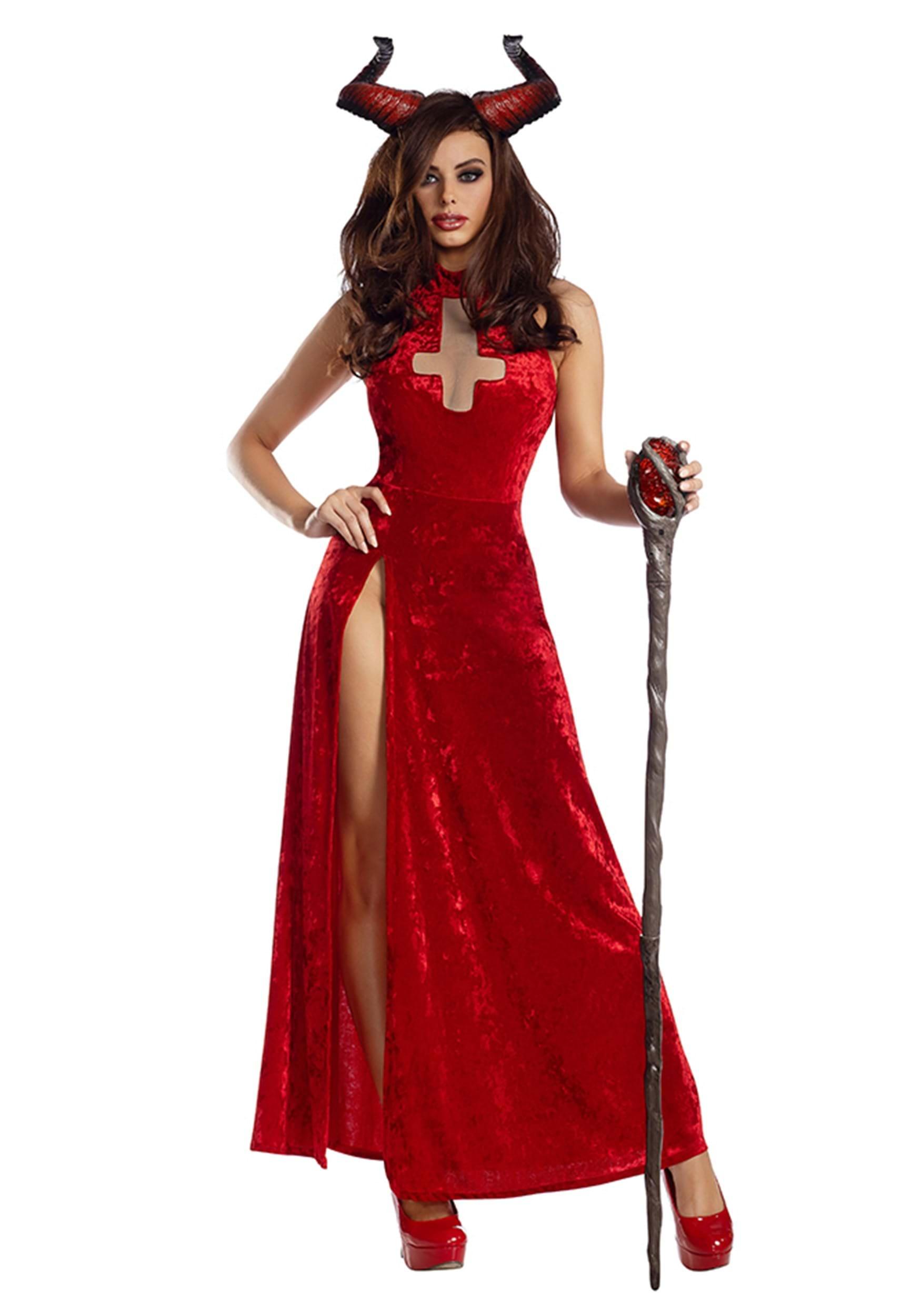 bad religion demon costume for women