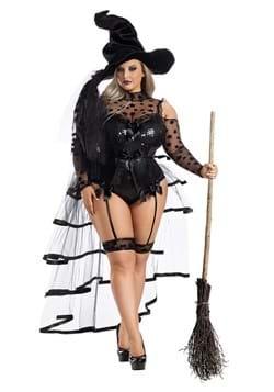 Women's Plus Starstruck Witch Costume