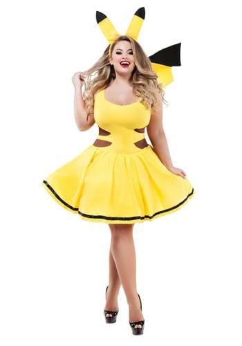 Women's Plus Catch Me Honey Costume