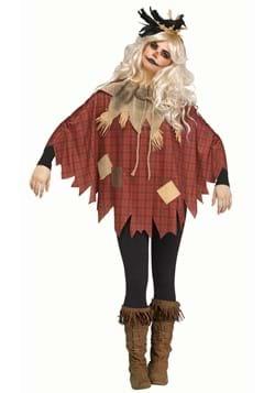 Women's Plus Size Scarecrow Poncho upd
