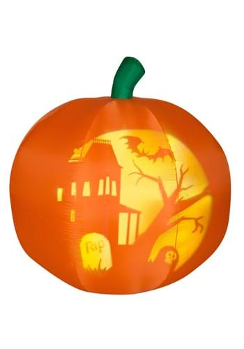 Inflatable 4ft Panoramic Projection Pumpkin