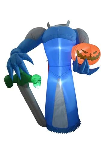 Inflatable 8ft Headless Pumpkin Knight