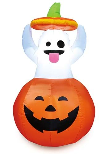 Inflatable 5ft Ghost in Pumpkin