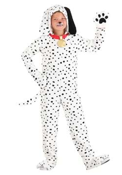 Kid's Plush Dalmatian Puppy Jumpsuit