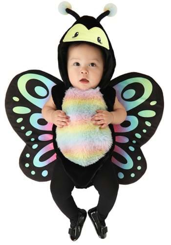 Infant Rainbow Butterfly Onesie