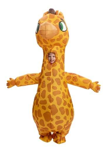 Inflatable Kids Giraffe Costume