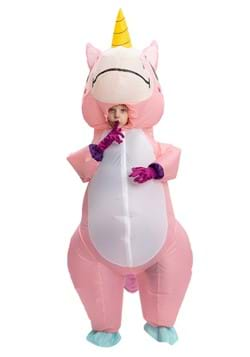 Inflatable Kids Pink Unicorn Costume