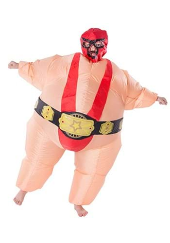 Inflatable Child Red Wrestler