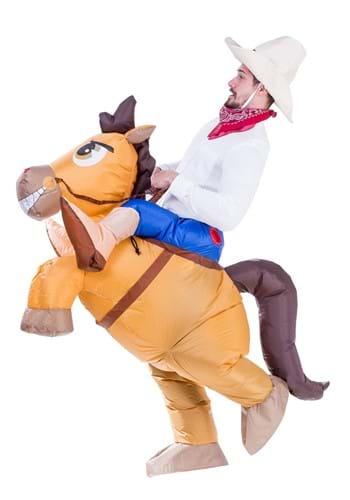 Inflatable Adult Horse Ride On Costume