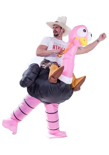 Inflatable Adult Ostrich Ride On Costume