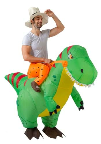 Inflatable Adult T Rex Ride On Costume