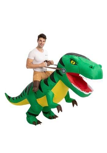 Inflatable Adult Mega T Rex Ride On Costume