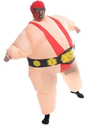 Inflatable Adult Red Wrestler