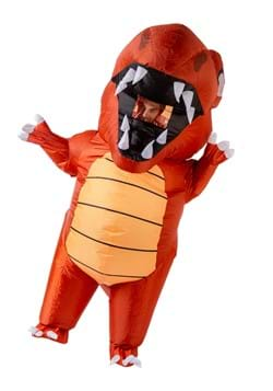 Inflatable Adult Red Dino Costume
