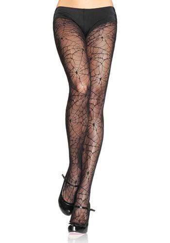Womens Spiderweb Lace Tights