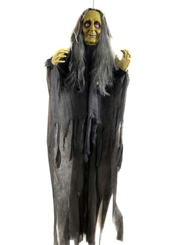 6 FT Hanging Shaking Witch