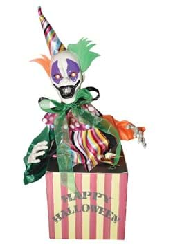 Animated Candy Box with Clown
