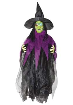 3 FT Hanging Light Up Witch