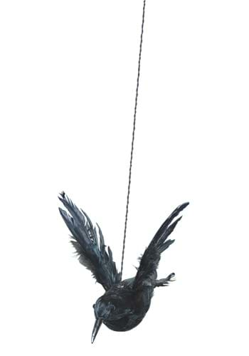Flying Crow with Wings Up