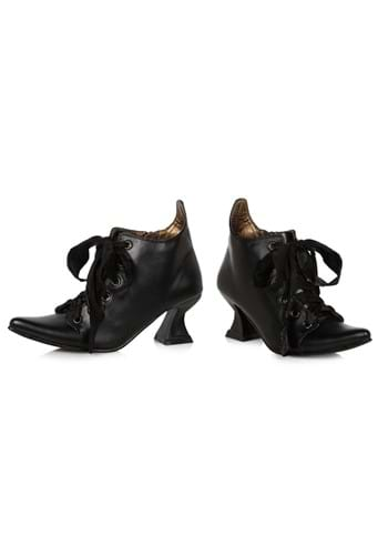 Girls Lace Up Witch Shoes (9/10)
