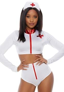 Women's Rescue Me Nurse Costume