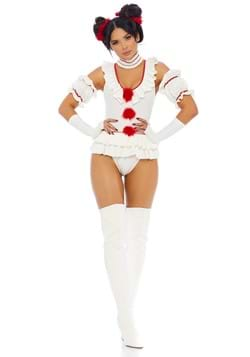 Women's Let's Play a Game Clown Costume