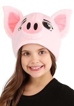 Plush Pig Hat