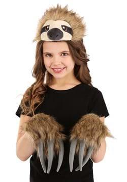 Sloth Plush Headband & Paws Kit