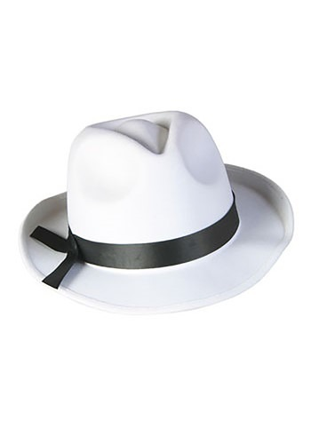 Click Here to buy White Fedora Hat from HalloweenCostumes, CDN Funds