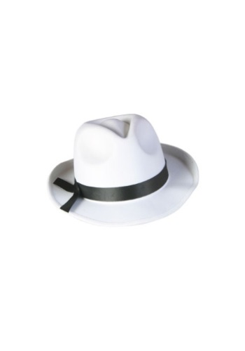 Click Here to buy White Fedora Hat from HalloweenCostumes, USA Funds & Shipping