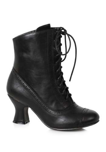 Womens Black Victorian Boots