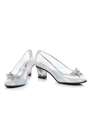 Girls Clear Princess Shoes