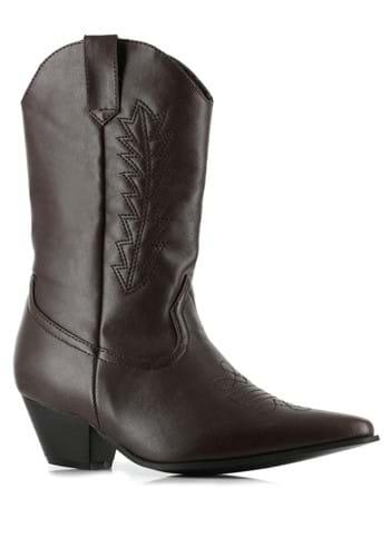 Kids Brown Cowboy Boots