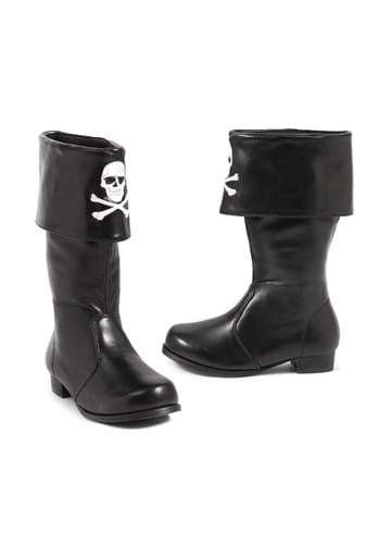 Kids Crossbones Pirate Boots