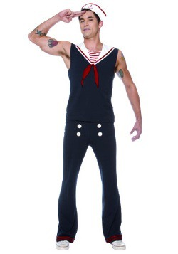 Mens Deckhand Sailor Costume