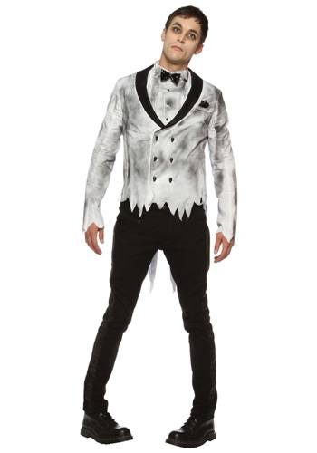 Click Here to buy Zombie Groom Costume from HalloweenCostumes, USA Funds & Shipping